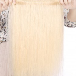 1 PC 613 blonde color human virgin human hair