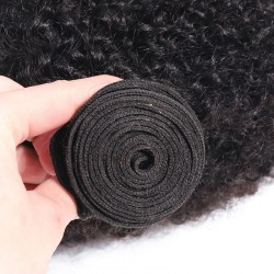 3 Bundle Deals Bundle Deals Afro Kinky Curly Remy Virgin Human Hair Weave 8A Brazilian Cambodian Burmese Mongolian