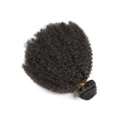 2Bundle Deal Original Pure Small Tight Curly Quality Brazilian Afro Kinky Curly Human Hair Weaving