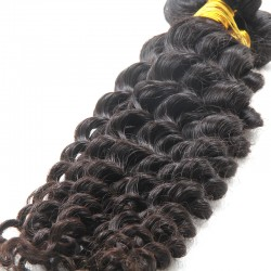9A 1Pc Deal Fashion Exotic Brazilian Deep Wave Original Natural Raw Hair UNPROCESSED Hair Braiding One Bundle Deal