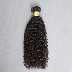 Unprocessed Raw Human Hair Weave Texture Jerry Curly Hair Style No shedding and tangle free Raw Human Hair 1PC a Lot