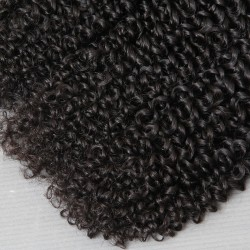 4Pcs Gorgeous Queen Love Natural Black Beautiful CURLS Brazilian Jerry Curly Mink Human Hair Slay and Rock Your Beauty