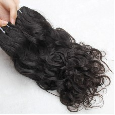 1Pcs Brazilian Water Wave Original Raw Natural Human Hair Weft easy to Sew in Human Hair Extensions