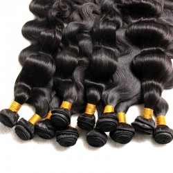 4Pcs Bundle Deals Brazilian 9A SIVOLLA Unprocessed Natural Original Mink Human Hair Weave