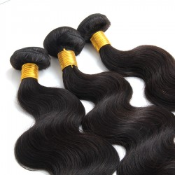 Brazilian Original Hair Wavy 3Pcs a Lot Bundle Deals Body Wave UNPROCESSED dyeable and bleachable hair weft