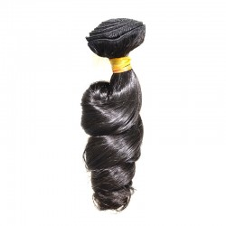 9A Brazilian Softest Natural Human Hair Loose WaveTexture Original Human Hair Collection Dyeable 100Gram Sew in Weft Hair