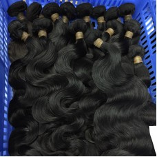 2 Pcs/lot 10A quality human hair Burmese Body Wave sivolla hair natural color  SivollaHair Weave newStar