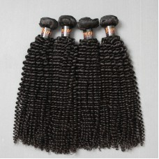 Hot Ladies Unprocessed 10A Natural Kinky Curly Burmese Mink virgin hair weaves 4 bundles deal Raw Hairs Affordable price