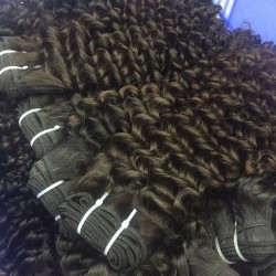 1Bundle Beautyforever 9A Burmese Deep Curly Virgin hair 1pcs/lot Deal Tight curls bouncy wefts Sivolla Hair