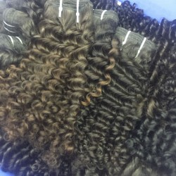 2 Bundle Deal 9A SivollaHair Curly Weave Burmese Deep Curls Virgin Human Hair 200g Full Natural Colors Vivid Cute Hair Style