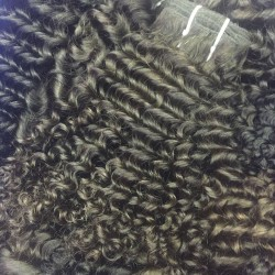 3Pcs/Lot 9A New Arrival Virgin human hair weave Burmese Deep curly Hair texture 300g tight small curls Beauty RAW no shedding