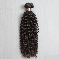 1 Bundle Sales Burmese Jerry Curly Natural Human Hair Pieces 100Gram and NO shedding,trangle free and unprocessed