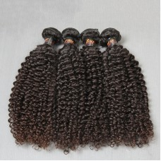 Beautiful Natural Human Hair Locks Burmese Human Hair Jerry Curly Bundle Deals 4PCS a lot Unprocessed Natural Black Hair