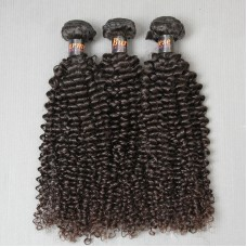 3Bundle Deals Easy to Sew-in Burmese Jerry Curly Human Hair Weaving Hairstyle Wholesale Directly
