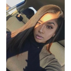 Cheapest Lace Frontal Closure Free Shipping Silky Straight Human Hair 13*4 Lace Frontal Closure Original Straight Hair LACE FRONTAL