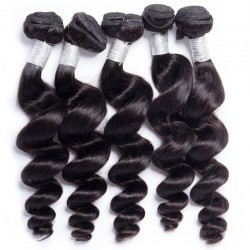 10Pcs Loose Wave Hair Texture 100% Unprocessed Natural Human Hair Wholesale Price 8A