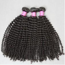 3Pcs/Lot Top quality human hair peruvian kinky curly virgin hair extensions SivollaHair Weave Aliexpress Hair Wholesale