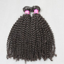 """2 Bundle deals Raw SivollaHair Peruvian Unprocessed Virgin Human Hair 8""""-30"""" Kinky Curly wefts Cuticles Aligned Natural Color Premium Quality Hair"""