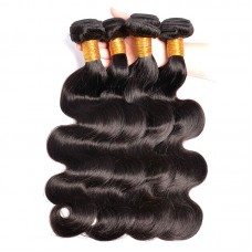 4 bundle Deals HOT Sale 10A Peruvian Virgin Hair Body Wave Weave Wefts Extremely Bouncy Wavy Texture SivollaHair Raw Hair