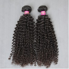 2 Pcs/lot Thick 200g 10A Unprocessed Raw Peruvian Virgin human hair Jerry Curly 100% Unprocessed Raw Hair weave SivollaHair