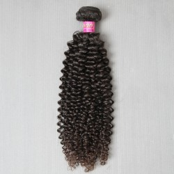 1Bundle Weave bundles 9A Virgin Peruvian Jerry Curly human hair extensions weft fuller ends 2Days fast delivery DHL