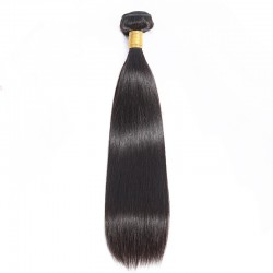 1Pc Human Hair Collection Wholesale Virgin Peruvian RAW Straight Hair Weaving Grade 9A Without Synthetic Fibers