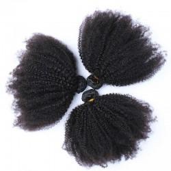 3 Bundle Deals Original Virgin Human Hair Afro Kinky Curly Hair Stylist Gorgeous Curs 8inch-30inch 9A