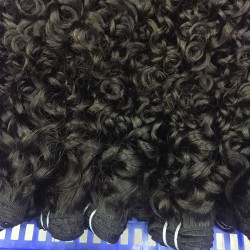 10Pcs wholesale brazilian romantic/italian curly virgin human hair bundle deals burmese,cambodian,vietnamese natural human hair