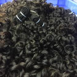 10Pcs wholesale brazilian romantic/italian curly virgin human hair bundle deals burmese,cambodian,vietnamese natural human hair