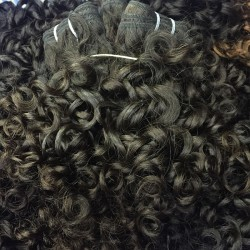 1 Bundle Romantic/Italian Curly Human Hair Brazilian Indian Peruvian Malaysian Burmese human hair weave