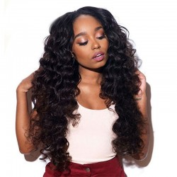 10PCS/Lot Cambodian Natural Wave Human Hair Weft Black Women's Fashion Human Hair