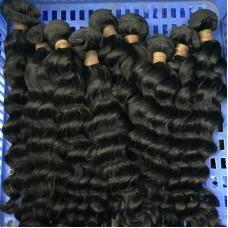 3Pcs/Lot Natural Brown Virgin 10A Cambodian natural wave human hair 3 bundles Flawless Sivolla Hair weave Wholesaler Dealer