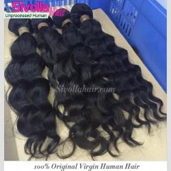 4 Bundle Deals Mink Human Hair SivollaHair Raw Hair Extension Virgin Loose Deep Wave Hair 400g Raw Natural Hair Dyeable and Bleachable