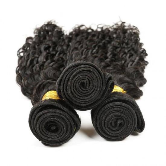 1Bundle Deep Wave Indian Human hair Weft Virgin Unprocessed Natural Hairs SivollaHair New Products BEATYFOREVER