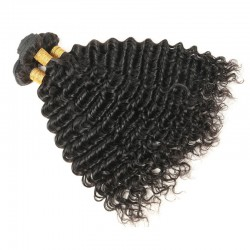1Bundle Deep Wave Indian Human hair Weft Virgin Unprocessed Natural Hairs SivollaHair New Products BEATYFOREVER