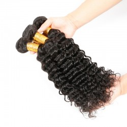 2 bundles Deep Wave SivollaHair Hair Fresh Style Unprocessed Indian Virgin Deep Wave Ultimate Promotion 2019 Trend Hair Fashion