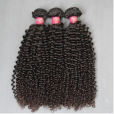3Pcs/Lot 2019 New Brand 100% Pure 10A Grade Natural Jerry Curly Unprocessed Virgin indian Human Hairs Raw Beauty Star