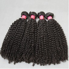 4 bundle Deals 400g 10A cheap Unprocessed Raw Indian Virgin human hair Kinky Curly texture Special Hair Curls Weave,No tangle fast shipping