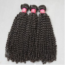 3Pcs/Lot Super Deal 10A Unprocessed Kinky Curls Virgin INDIAN Kinky Curly Human Hair Weft Sivolla Hair mayvenn