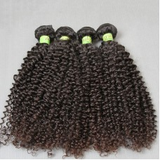 400g/lot Single Donor Raw Remy Virgin Weave Pure Malaysian Jerry Curly Human Hair Curls no shedding no tangling Quality Guaranteed 10A