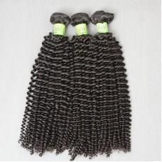 3Pcs/Lot 100% Virgin Malaysian Virgin Remy Kinky Curly Hair Thick Weft (3pcs 3 bundles 300g) 10A SivollaHair Weave