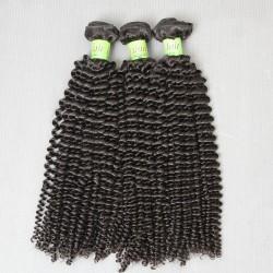 3Pcs/Lot 100% Virgin Malaysian Virgin Remy Kinky Curly Hair Thick Weft (3pcs 3 bundles 300g) 9A SivollaHair Weave